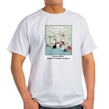 """Santa's Gastric Bypass"" Ash Grey T-Shirt"