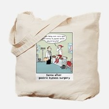 """Santa's Gastric Bypass"" Tote Bag"