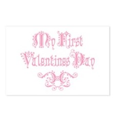 Royal My First Valentines Postcards (Package of 8)