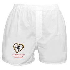"""""""A Motocrosser Loves Me"""" Boxer Shorts"""