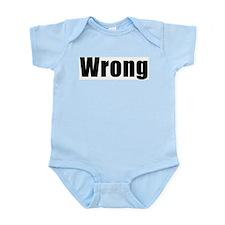 Wrong Infant Creeper