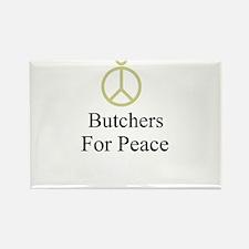 Butchers Rectangle Magnet