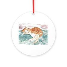 Kitty's P.J. Ornament (Round)