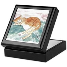 Kitty's P.J. Keepsake Box