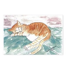 Kitty's P.J. Postcards (Package of 8)