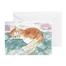 Kitty's P.J. Blank Greeting Cards (Pk of 20)