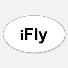 iFly Oval Decal