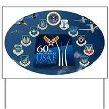 All Commands 60th Yard Sign