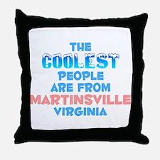 Coolest: Martinsville, VA Throw Pillow