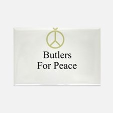 Butlers Rectangle Magnet