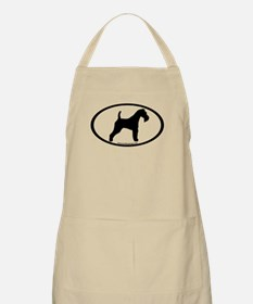 Wire Fox Terrier Oval Apron