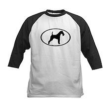 Wire Fox Terrier Oval Tee