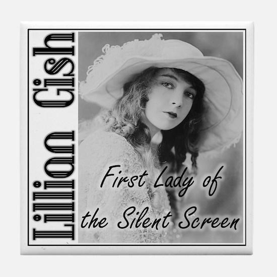 Lillian Gish Tile Coaster