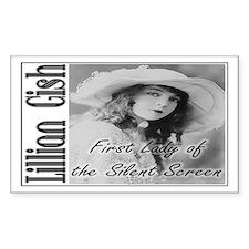 Lillian Gish Rectangle Decal