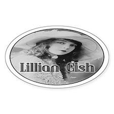 Lillian Gish Oval Decal