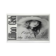 Lillian Gish Rectangle Magnet