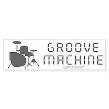 Groove Machine Bumper Bumper Bumper Sticker