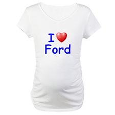 I Love Ford (Blue) Shirt