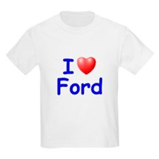 I Love Ford (Blue) T-Shirt