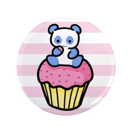 "Pandacake 3.5"" Button (100 pack)"