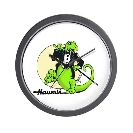 Gecko's with Style Wall Clock