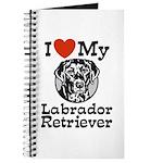I Love My Labrador Retriever Journal
