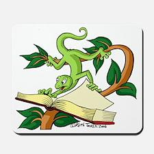 Gecko wild & carzy Mousepad