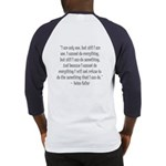 Keller Quote Baseball Jersey