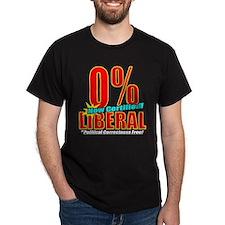 0% Liberal! T-Shirt