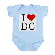 I Love Washington (DC) Infant Creeper