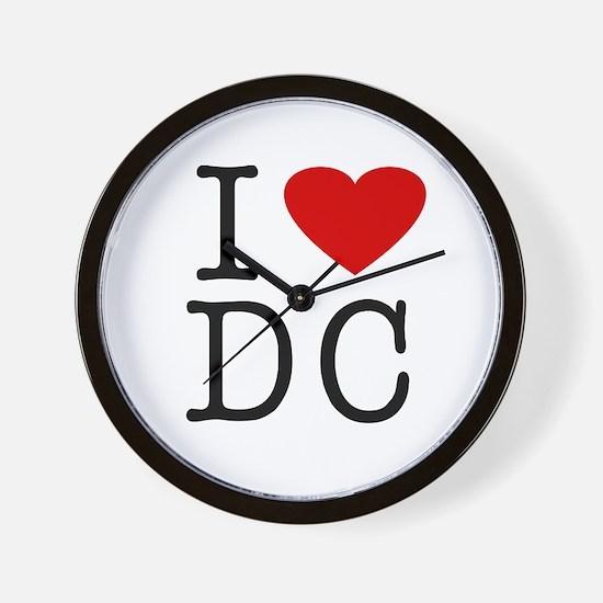 I Love Washington (DC) Wall Clock