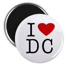 I Love Washington (DC) Magnet