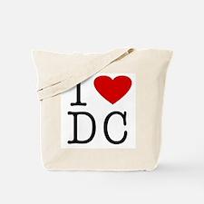 I Love Washington (DC) Tote Bag