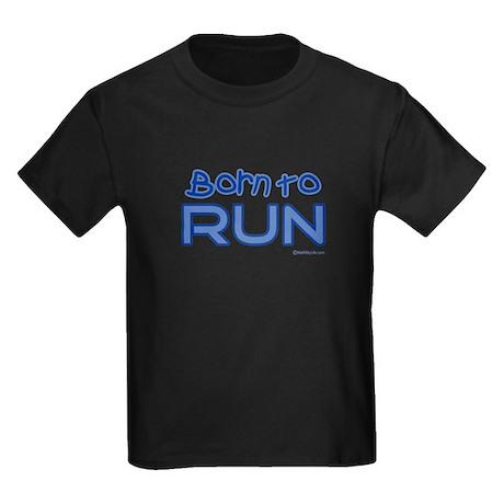 Born to Run Kids Dark T-Shirt