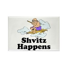 Shvitz Happens Rectangle Magnet