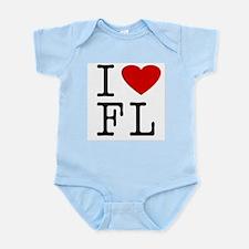 I Love Florida (FL) Infant Creeper