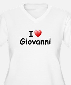 I Love Giovanni (Black) T-Shirt