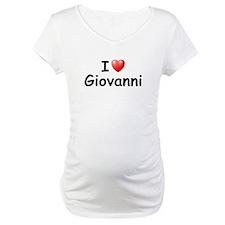 I Love Giovanni (Black) Shirt