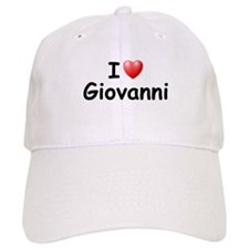 I Love Giovanni (Black) Baseball Cap