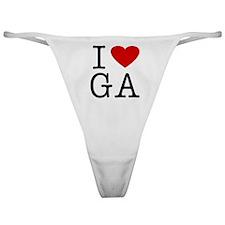 I Love Georgia (GA) Classic Thong