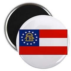 Georgia Georgian Blank Flag Magnet