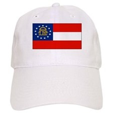 Georgia Georgian Blank Flag Baseball Cap