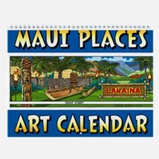Maui Places Wall Art Calendar