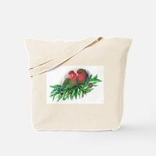 Sweet Lovebirds Tote Bag