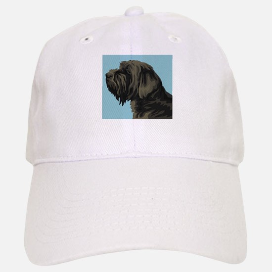 Wirehaired Pointing Griffon Baseball Baseball Cap