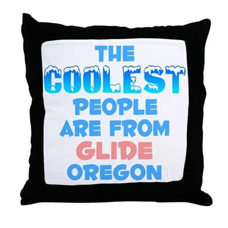 Coolest: Glide, OR Throw Pillow
