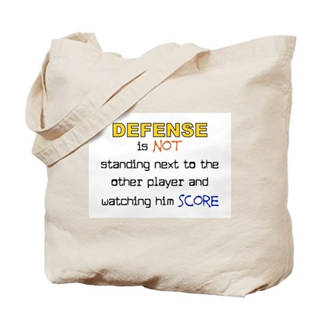 Message for the Defense Tote Bag