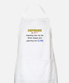 Message for the Defense BBQ Apron