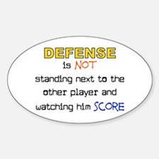 Message for the Defense Oval Decal