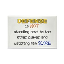Message for the Defense Rectangle Magnet